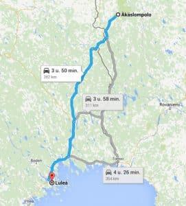 Dag 2: Destination Luléa